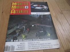 MAQUETTES MODELES ACTUALITE NISSAN R 89 C HONDA VT 250 F N°2 12/1990 - Littérature & DVD