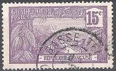 Guadeloupe 1905 Michel 57 O Cote (2004) 0.50 Euro La Vanille Cachet Rond - Gebraucht