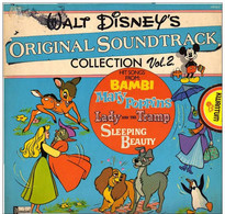* LP *  WALT DISNEY'S ORIGINAL SOUNDTRACK COLLECTION Vol. 2 - Filmmuziek