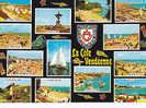 Cpm  85 Vendee Sable D Olonne St Jean De Monts Tranche Sur Mer L Aiguillon Sur Mer Jars Sur Mer Longeville Fromentine - France