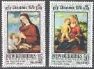 Nouvelles Hebrides 1970 Michel 297 - 298 Neuf ** Cote (2005) 2.50 Euro Noël - Leyenda Inglesa