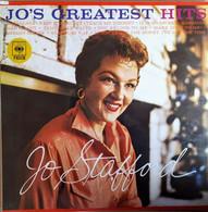 * LP *  JO STAFFORD - JO'S GREATEST HITS (Holland 1958 Reissue Ex-!!!) - Vinylplaten