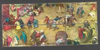 Belgique - Belgié - 6 Bruegel Oblitérés - YT 1437 à 1442 - Cote YT 3,50 Euros - Belgien