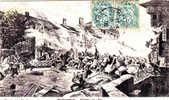 88 Cpa RAMBERVILLIERS.  DEFENSE  DE 1870.. - Rambervillers
