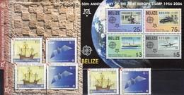 EUROPA Stamp On Stamps 2006 Belize Block 102, Kroatien 734/5,ER+ Bl.27 ** 60€ Hojitas Blocs S/s Sheets M/s Bf CEPT - Belize (1973-...)