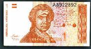 Billet Croatie 1 Dinar 1991 Ttb+ - Croatia