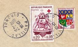 Croix Rouge Saint Martin Bâton De La Confrérie + Blason Oran Pauillac Gironde Pour Montluçon Allier - Frankrijk