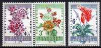 Belgique N° 1122 / 1124 Luxe ** - Belgique