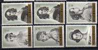 Belgique N° 1233 / 1238 Luxe ** - Neufs