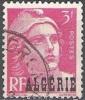Algerie 1945 Michel 236 O Cote (2005) 0.30 Euro Marianne De Gandon Cachet Rond - Used Stamps