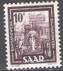 Sarre 1949 Michel 272 Neuf ** Cote (2011) 0.40 Euro Artisanat Pour Les Bâtiments - 1947-56 Occupation Alliée