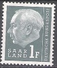 Sarre 1957 Michel 409 Neuf ** Cote (2011) 0.30 Euro Theodor Heuss - Neufs