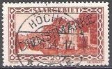 Sarre 1929 Michel Service 24 O Cote (2011) 2.00 Euro Sarrelouis Caserne Cachet Rond - Officials