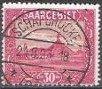 Sarre 1922 Michel 90 O Cote (2011) 4.40 Euro Scories De Charbon Völklingen Cachet Rond - Used Stamps