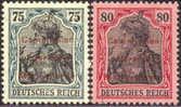 Marienwerder #29-30 XF MH From 1920, 4 German Expertizers - Deutschland
