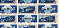 U.S. 1569-70  **  APOLLO-SUYUZ  SPACE  SHEET - Sheets
