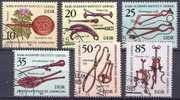 DDR YT N°2294/2299 Histoire De La Médecine Oblitéré ° - Usados