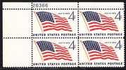 U.S. 1132X4  **  FLAG - Unused Stamps