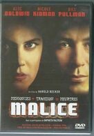Dvd Malice - Policiers