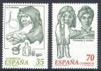 ESPAÑA 1998 - LITERATURA ESPAÑOLA PERSONAJES DE FICCION - Edifil Nº 3538-3539 - Yvert Nº 3113-3114 - 1931-Aujourd'hui: II. République - ....Juan Carlos I
