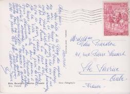 ITALIE  25 L. SPEDIZIONE DEL MILLE 1860-1960  S/ CPSM 10X15 Riviera Dei Fiori . ALASSIO . Albergo Bel  Soggiorno - 6. 1946-.. Republic