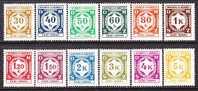 Germany Occupation Bohmen Und Mahren O 1-12  ** - Occupation 1938-45