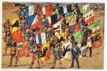 Bannerets Des 22 Cantons Suisses - Bannerträger Der 22 Schweizer Kantone - Porta-bandieri Dei 22 Cantoni Svizzeri C.1920 - Zonder Classificatie