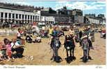 Carte Postale Royaume Unis   Ramsgate à Dos D'ânes Sur La Plage Trés Beau Plan - Ramsgate