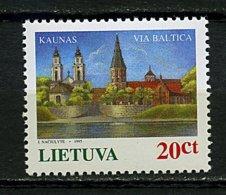 """Lituanie ** N° 505 - """"Via Baltica"""" Paysages - Lithuania"""