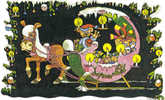 Carte Joyeux Noel  Attelage Traineau - Ohne Zuordnung