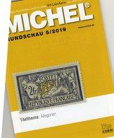 MICHEL Briefmarken Rundschau 5/2019 New 6€ Stamps Of The World Catalogue/magacine Of Germany ISBN 978-3-95402-600-5 - Magazines: Abonnements