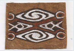 Papoeakunst Op Geklopte Boomschors - Ornament Motief - Irian Jaya - Nieuw Guinea; Indonesië - - Aziatische Kunst