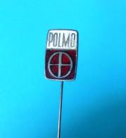 POLMO - Poland Car ** Vintage Enamel Pin Badge ** Automobile Auto Automobil Autos Voiture Anstecknadel Distintivo - Unclassified