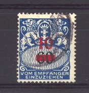 Allemagne  -  Dantzig  -  Taxes  :  Yv  35  (o)         ,   N2 - Danzig