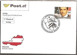 Austria. Scott # 1961 FDC.  Personality 2004 - FDC
