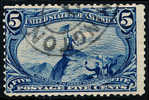Etats-Unis / United States (Scott No. 288 - Frémont On The Rocky Mountains) [o] CV $22,50 - Usati
