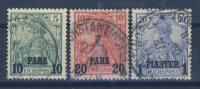 Deutsche Post T�rkei Mi No. 12 - 14 II gestempelt used