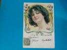 Illustrateur)  Portrait - N° 402  Art Nouveau - Année 1900 - EDIT- - Illustrateurs & Photographes