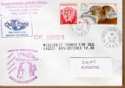 TAAF PLI CROZET. Poste 279+194 Obl. 14-11 2000 Griffe MARION DUFRESNE OP 2000/3 + CMA CGM .VOIR PHOTO. - Terres Australes Et Antarctiques Françaises (TAAF)
