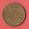 MONNAIE DE NECESSITE   FIRM GRINNELL  GENERAL STORE  ELWOOD.IND.  /  GOOD FOR 5 C INTRADE - Monedas/ De Necesidad