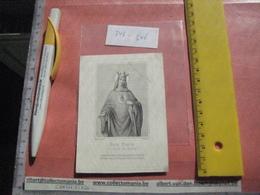 Professeur DEWITTE Joseph Albert Bruxelles 1844  1874 - College Saint Rombaut ( St Rombouts ) Vicaire - Devotion Images