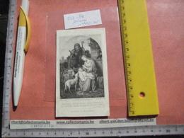 PEETERS Jacques Epoux De Dame METZ Marie Cornélie - 1811 Woluwe + Schaerbeek 1871 - Jozef Met Timmermans Attibuten - Images Religieuses