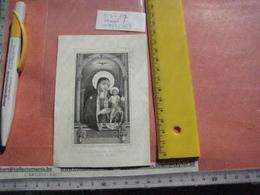 Professeur DEWITTE Joseph-Albert 1844 + 1874 - College Saint Rombaut ( St Rombouts ) : Icoon Maria RosarII SCHULGEN - Devotion Images