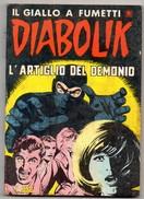 Diabolik R.(Astorina 1979)  N. 33 - Diabolik