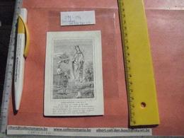Porceleinkaart Doodsprent Tres Réverend DE CONINCK Pierre + 1853  - St Gudule - Confrèrie  De André AVELIN - Imágenes Religiosas