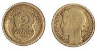 ** 2 FRANCS 1933 MORLON  ETAT TTB- **2F321 ** - France