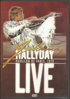 - DVD JOHNNY HALLIDAY LIVE PAVILLON DE PARIS 1979 (D3) - Concert & Music