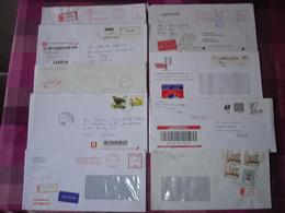 Aangetekend, Express  Recommandé, Registered Mail Einschreiben, Lotje Met 20 Tal Aangetekende Zendingen Europa - Autres - Europe