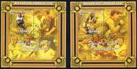 MOZAMBIQUE 2001 - * - JO Sydney 2000 - BF 47-48 - Tennis Lawn Agassi Williams - Tenis