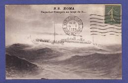 "D299)  PAQUEBOT  FRANCAIS "" Ss Roma  "" 1920  (TTB ETAT) - Dampfer"
